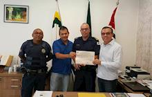 A Guarda Civil Municipal de Capela do Alto  recebe a posse do certificado de funcionamento do ano 2017